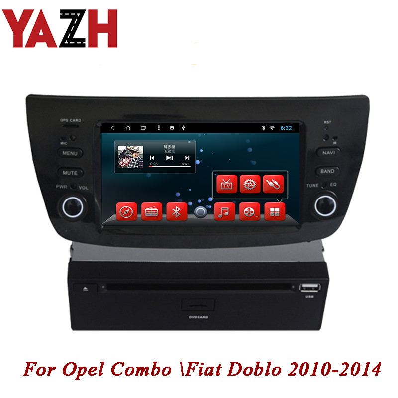 YAZH 1 DIN 32GB CAR head unit For Opel Combo Fiat Doblo 2010 2011 2012 2013