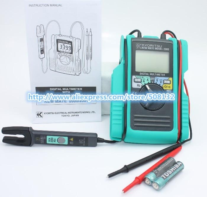 Kyoritsu 2000 Digital Multimeter AC DC Clamp Tester NEW