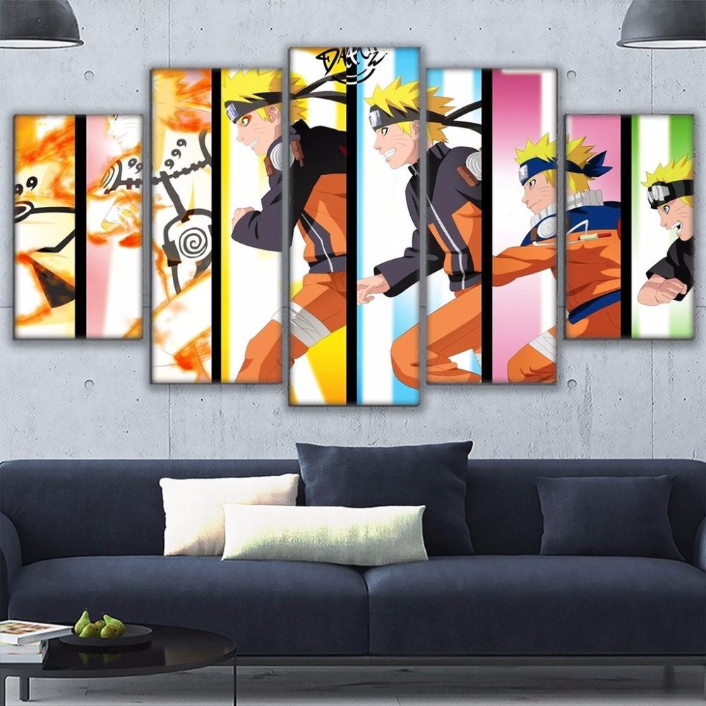 marcos para cuadros modernos pintura de la lona panel animacin dragon ball cuadros decoracin hogar