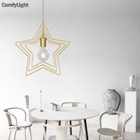 Modern design Pendant Light Lobby Dining Room bedsize Arts Decoration lighting Antique Gold suspension Pendant Lamp E27 lights