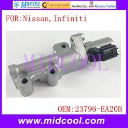Nowy zawór kontrolny oleju VVT o zmiennej rozrządu Solenoid OE nr. 23796-EA20B / 23796EA20B dla nissana Infiniti