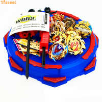 Golden Beyblade Burst Toy With Launcher Starter and Arena burst Metal Fusion God Spinning Top Blade Toy Drop shipping e