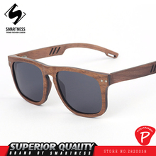 New 2017 French designer Europe and the United States street fashion wooden glasses Black Walnut Polarized UV400 Sunglasses