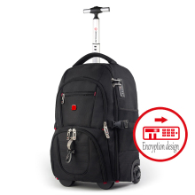 Новая модная многофункциональная мужская деловая багажная сумка на колесиках, дорожная сумка на колесиках, чемодан для мальчика, рюкзак для переноски