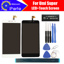 5.5 inch Umi Super LCD Display Touch Screen Glass F-550028X2N 100% Original Tested LCD Screen Glass Panel For Super 1920x1080