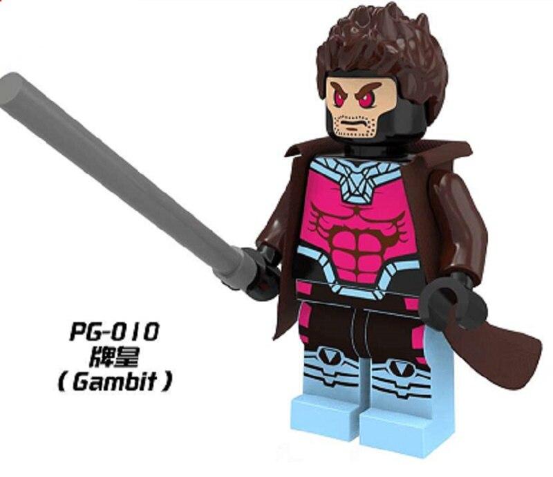 PG010 Single Sale Building Blocks Super Heroes Star Wars Gambit Bricks Assemble Education Learning Toy for Children Gift