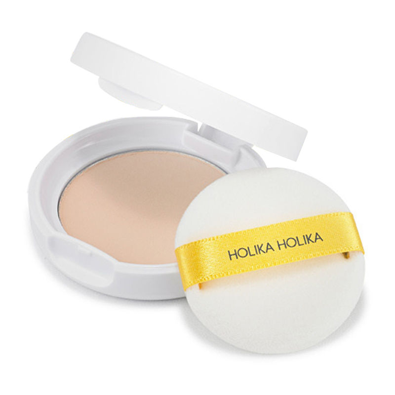 HOLIKA HOLIKA Holi Pop Blur Pact (SPF30/PA+++) 10.5g Sweet Cotton Sebum Clear Sebum Control Face Powder Makeup Korean Cosmetics пудра на минеральной основе innisfree no sebum mineral pact
