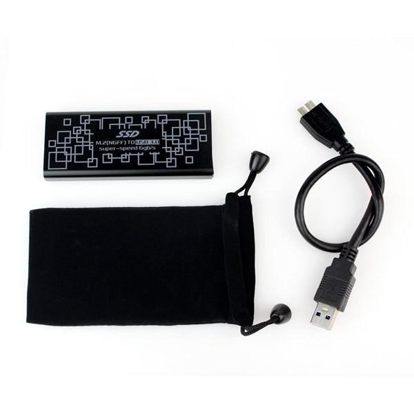 2015-Hot-USB3-0-to-M-2-NGFF-PCI-E-Converter-Adapter-Enclosure-Case-B-M