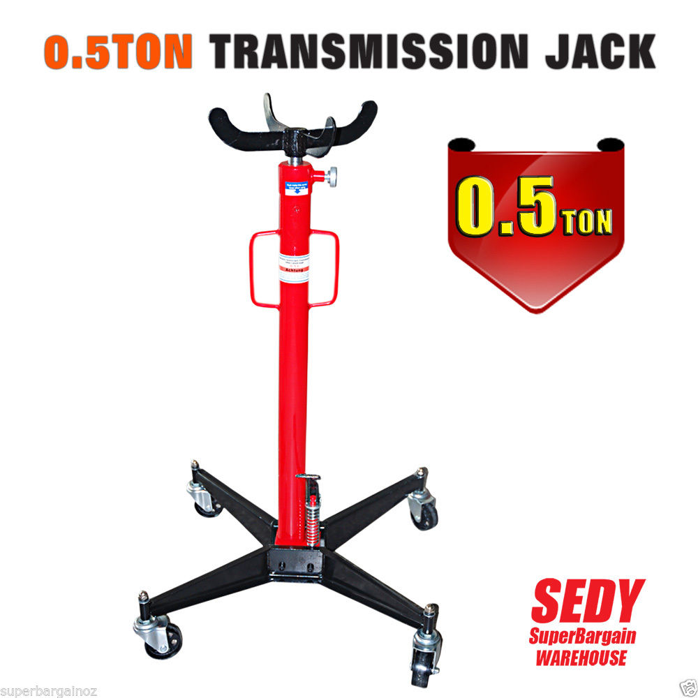 Hydraulic Transmission Jack Stand Lifter Hoist 500Kg 0 5 Ton Vertical