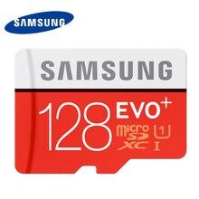 ซัมซุงไมโครSDการ์ดหน่วยความจำ128กิกะไบต์SDXC TF80MเกรดEVO + MicroSDคลาส10 C10 UHS TFทรานส์แฟลชสำหรับมาร์ทโฟน128กิกะไบต์100%