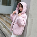 2016 Winter New Jacket Women Winter Coat Womens Thick Warm Outwear Cotton-Padded Jacket and Coat Slim Hooded Coat JN1110