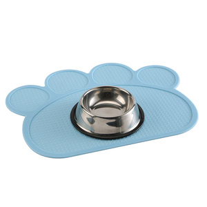 Водонепроницаемый коврик для собак, кошек, силиконовый коврик для еды для домашних животных, миска для питья, коврик для кормления собак, легко мыть