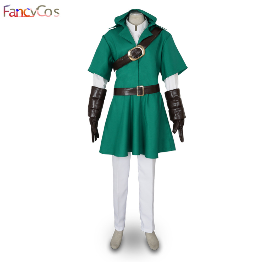 Halloween The Legend of Zelda Link Uniform Cosplay Costume Game Anime Japanese High Quality Custom