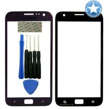 Schwarz Farbe Für Samsung Ativ S I8750 Frontscheibe Glas Objektiv Front Äußere Linse Ersatz Montage mit Tools Adhesive