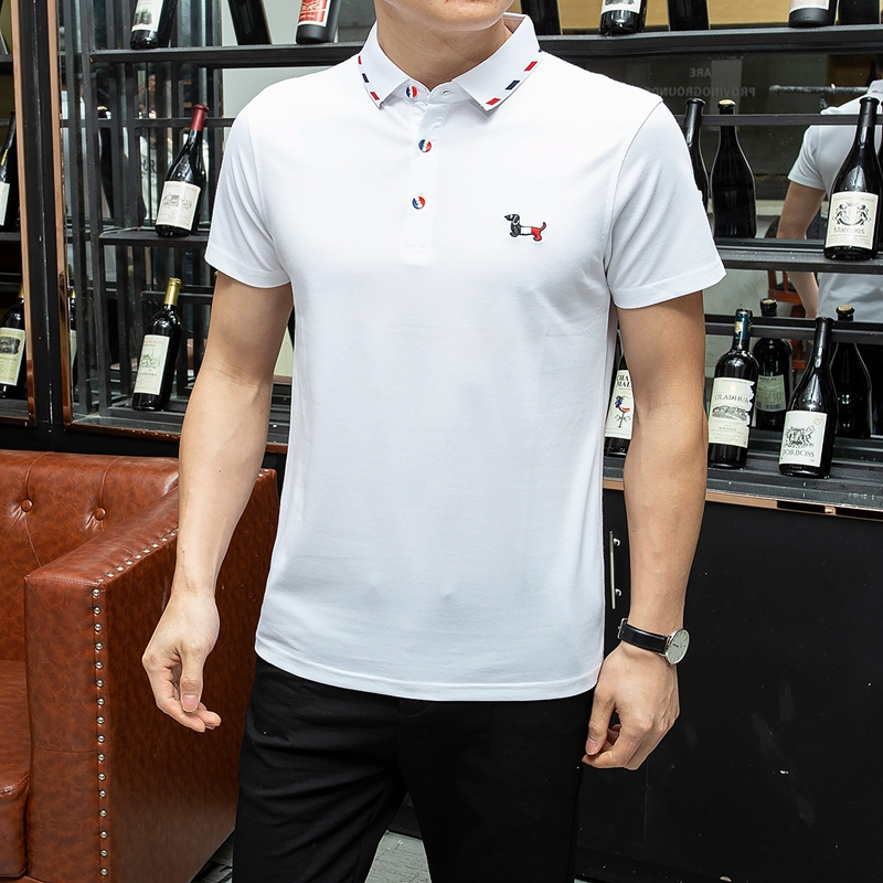 HAYBLST   Polo   Shirt Men 2019 Summer Famous Brand New Casual High Quality Pure Cotton Breathable Plus Size 3XL   Polo   Shirt Homme