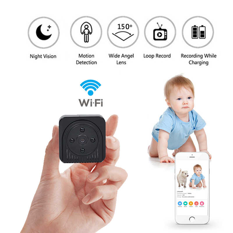 HD 720P Home Security IP Wireless WiFi Mini Camera IR Night Vision Baby Monitor Portable car cam Recorder support hidden TF card