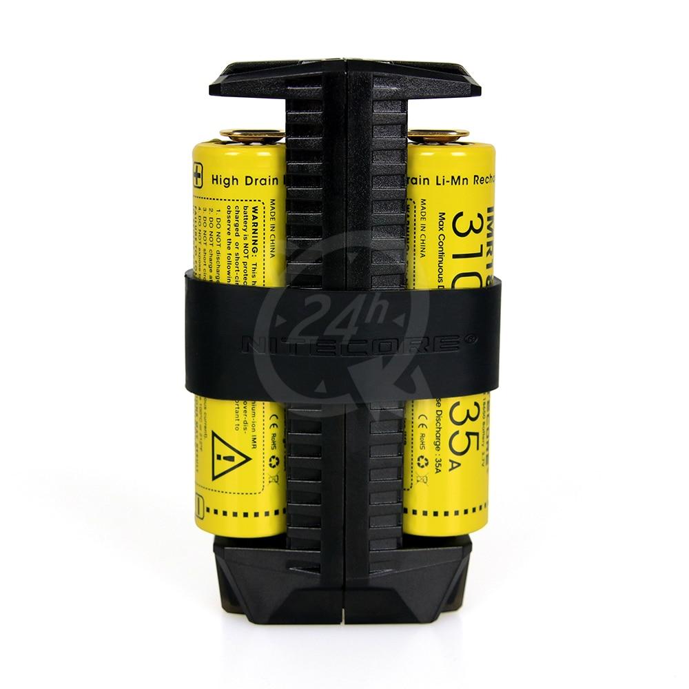 Nitecore F2 Flexible Power Bank 2-Bay Charger for Li-Ion IMR Batteries