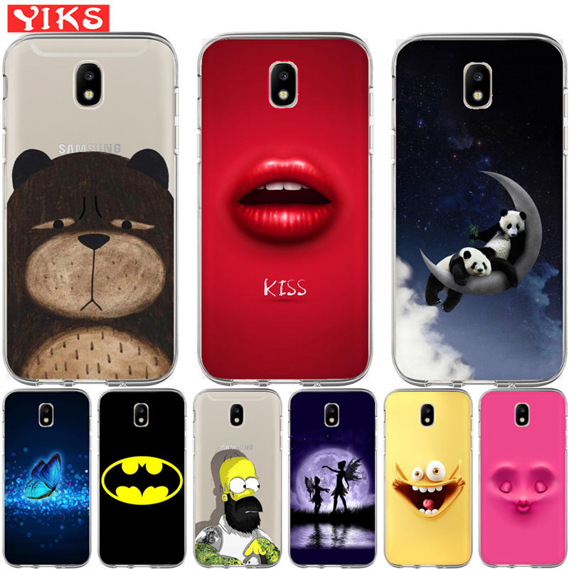 Luxus <font><b>Batman</b></font> Flamingos Panda softphone Fall Für <font><b>Samsung</b></font> <font><b>Galaxy</b></font> J2 J3 <font><b>J5</b></font> J7 Prime 2016 2016 <font><b>2017</b></font> EU G530 Back Cover Coque Etui image