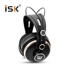 Echt ISK HD9999 Pro HD Monitor Hoofdtelefoon Volledig gesloten Monitoring Oortelefoon DJ/Audio/Mengen/Opname Studio Headset hd681 evo