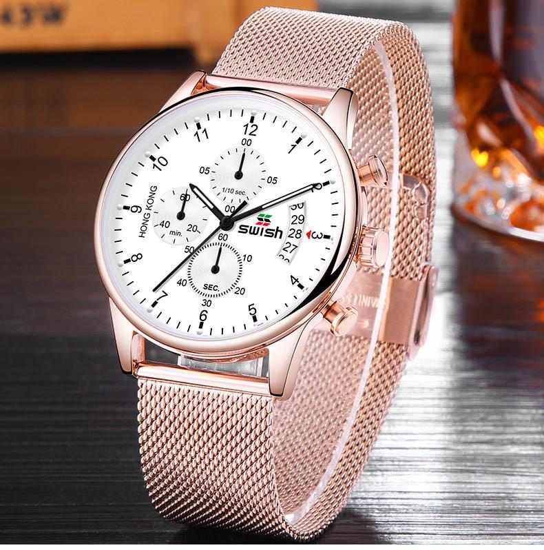 HTB1IvlqUIfpK1RjSZFOq6y6nFXaA SWISH 2019 Top Brand Luxury Mens Watches Waterproof Stainless Steel Wristwatch Mens Chronograph Casual Quartz Watch