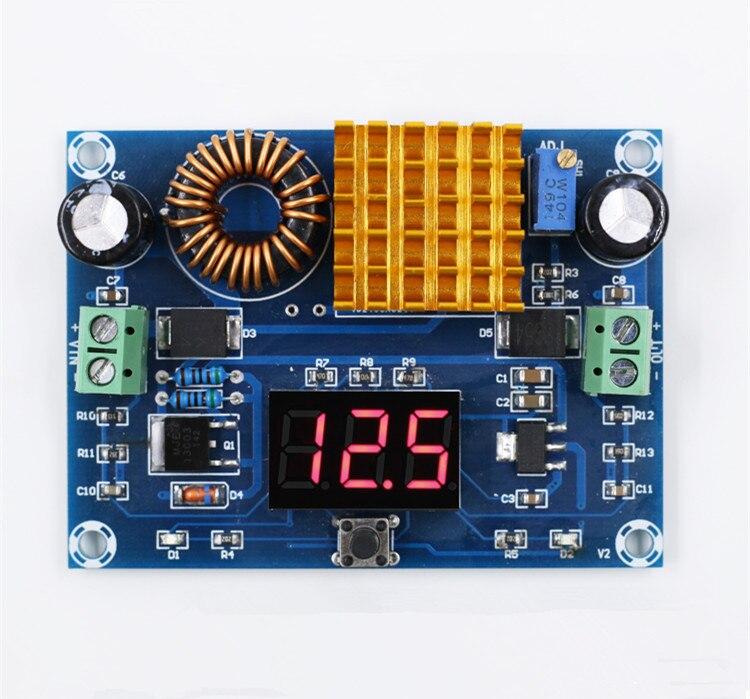 XH-M411 DC-DC digital boost board boost module XL6019 high-power step-up board boost system