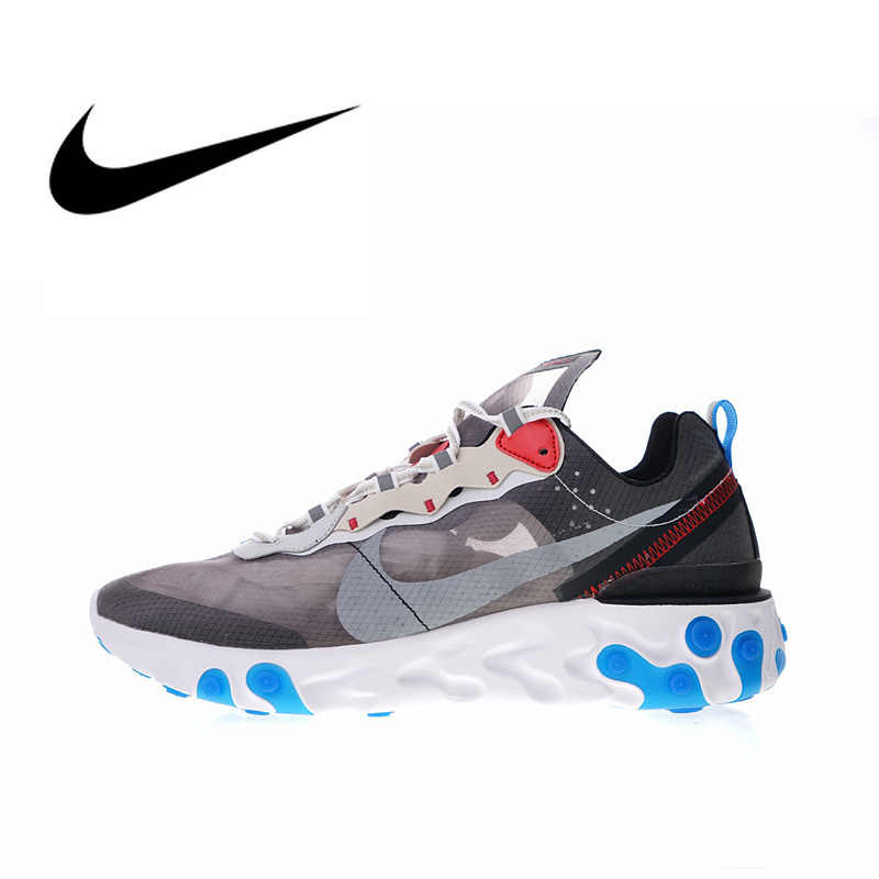 558f805748cf Nike Upcoming React Element 87 Men s Running Shoes Sport Outdoor Sneakers  Designer Athletic 2018 New Arrival