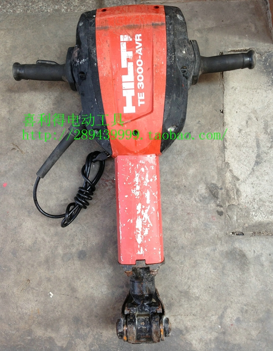 Hilti Te 3000 Avr Heavy Xilide Electric    Break Through