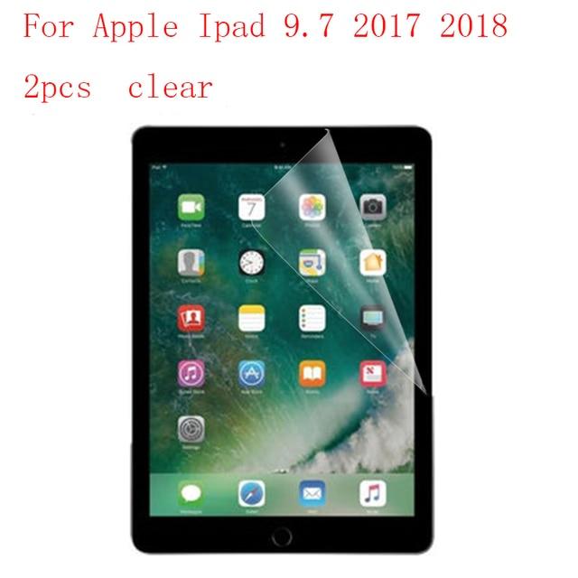 クリア/ナノタブレット液晶フィルムアップルの Ipad 9.7 2017 2018 強化保護超薄膜 2 ピース/ロット