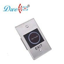 DWE CC RF контроль доступа из нержавеющей стали no nc com 12 V IR sensor no сенсорная кнопка для выхода
