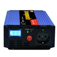 1200 W/2500 W tepe modifiye sinüs dalga inverter DC 12 V AC 220 230 240 V kapalı izgara güç invertör dönüştürücü 1000 W 1500 W
