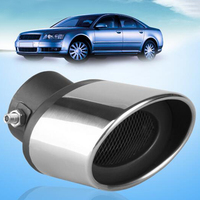 New Universal Car Stainless Steel Exhaust Pipe For Mazda 6 Cruze Focus Exhaust Pipe Car Accessories