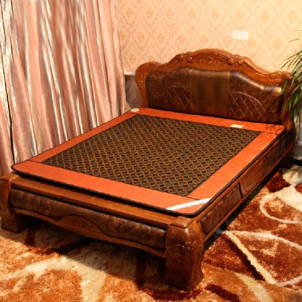 Free Shipping for Natural Jade Heated Jade Cushion Singleplayer Germanite Heated Cushion Heated Mattress Size: 1.2X1.9M