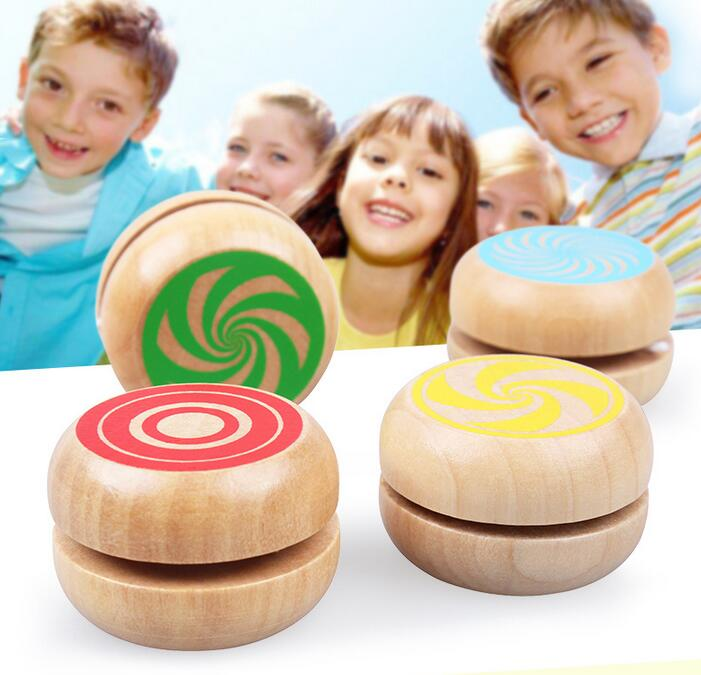 Creative Toys Magic Yoyo Wooden YO-YO Ball Spin Professional Classic Toys Yo Yo For Kids Children Gift Present