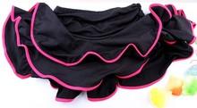 Children's Latin Dance Skirt Girls Ballroom Dance Costume Children Dance Clothing Split Dance Skirt