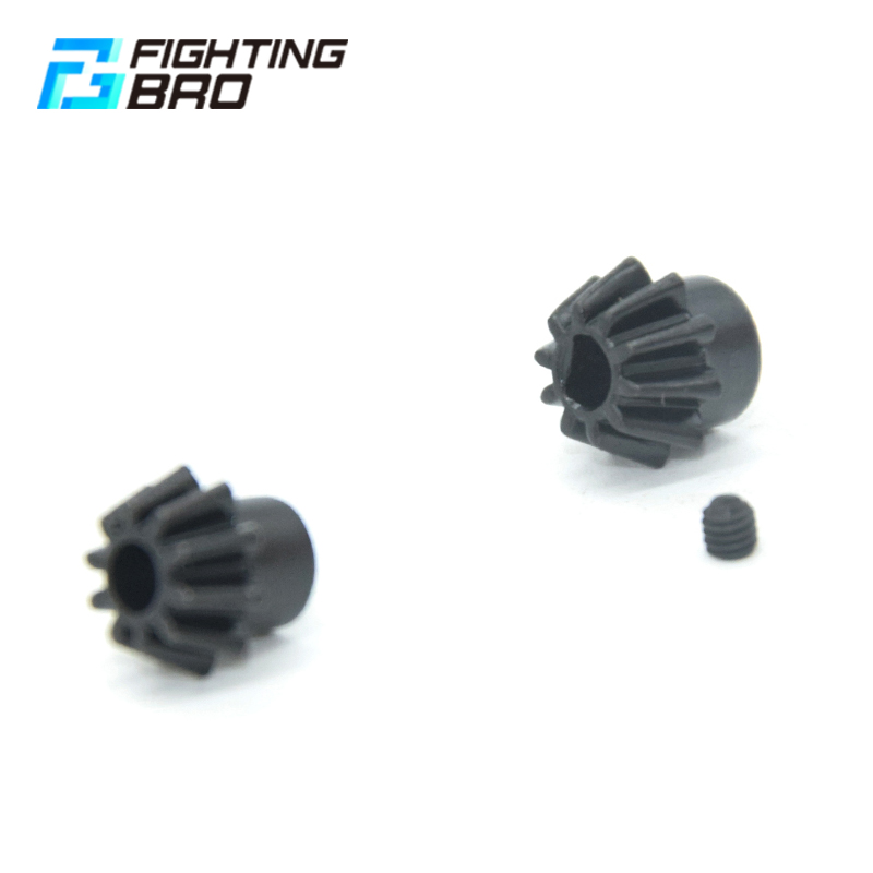 FightingBro Motor Pinion Gear Steel Type O D For Airsoft AEG Accessories Paintball Air Guns-in Paintball Accessories from Sports & Entertainment