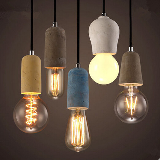 Resin Retro Loft Style Vintage Industrial Lighting Pendant Lights Hanging Lamps Fixtures For Dinning Room,Lamparas Conlgantes nordic resin retro loft style industrial lighting vintage pendant lamp fixtures dinning room led hanging light lamparas