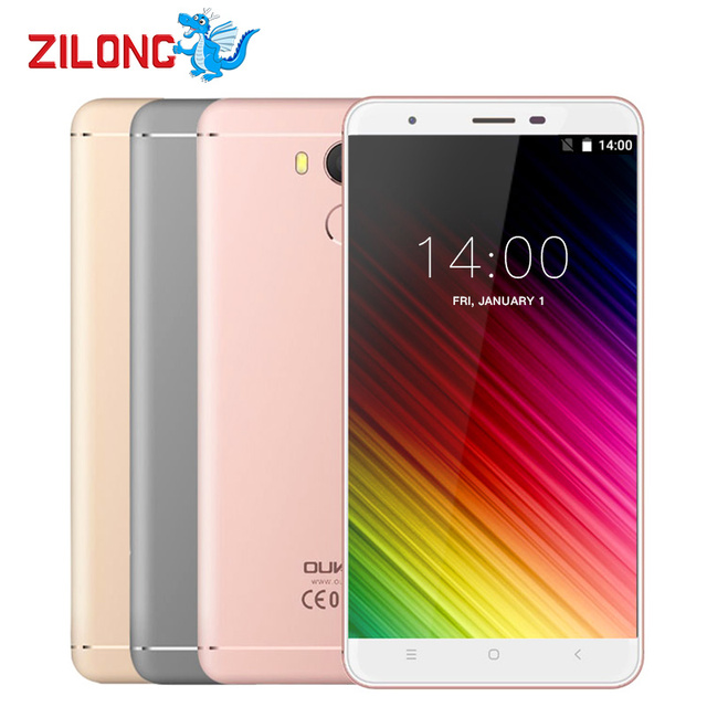 Original Oukitel U15 PRO Smartphone Android 6.0 5.5 inch IPS MT6753 Octa Core 3GB RAM 32GB ROM 13MP Fingerprint 4G Mobile Phone