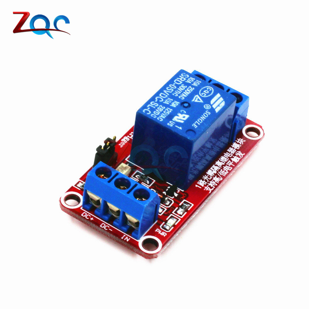 One 1 Channel 5V Relay Module Board Shield With Optocoupler Support High And Low Level Trigger Power Supply Module For Arduino 5v 2 channel ir relay shield expansion board module for arduino with infrared remote controller