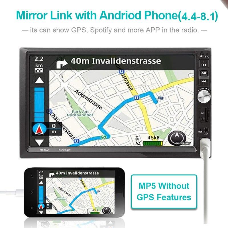 Vehemo FM/USB/AUX MP5 плеер Авто MP5 плеер автомобильная электроника автомобиль MP5 плеер Смарт MP5 заднего вида