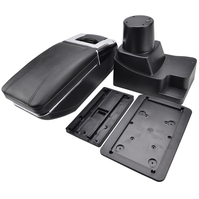 Armrest For Chevrolet Sonic / Aveo 2012-2018 Center Centre Console Storage Box Arm Rest Rotatable Holden Barina 2013 2014 2015