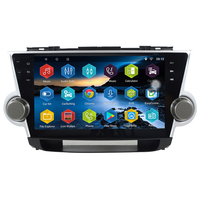 10.2 inch Android 7.0.0 1G+16G 4 Core 2 Din for Toyota Highlander 2008 2012 Car Multimedia Radio GPS Navigation