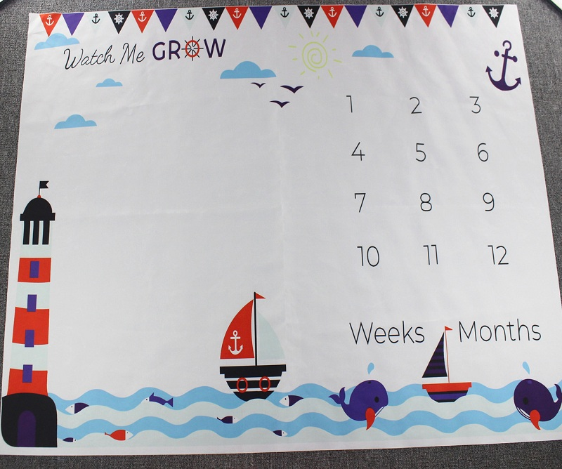HTB1Ivq2XNv1gK0jSZFFq6z0sXXau Cartoon Infant Portray Blanket Milestone Photo Props Background Blankets Baby Play Mats Backdrop Calendar Photo Accessories