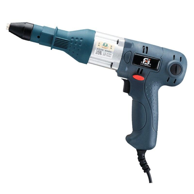 350 Вт Электрический Пневматические молотки слепой Заклёпки пистолет клепки инструмент 400 Вт электрические Мощность инструмент для 3.2 4.8 мм э