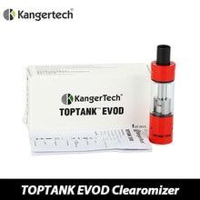 100% Оригинал Kanger EVOD Танк Clearomizer 1.7 мл Toptank Емкость Верхней электронной сок электронной сигареты Распылитель для ТОП EVOD Starter Kit