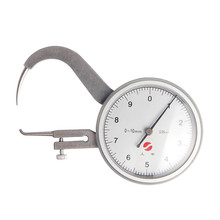 Wholesale prices 0-10mm 0.05mm Dial Thickness Gauge Tester Dial Snap Gauge Caliper Gauge Measuring tool