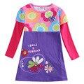 2016 rosa azul verde camiseta de la muchacha floral niños desgaste infantil roupas meninos Todos para niños accesorios de vestir enfant