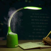 SUNLI HOUSE Humidifying LED Desk Lamp Relieve Fatigue Reading Lighting Fashion Table Lamps Pink Green Blue