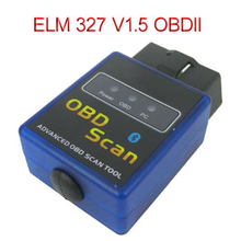 Последняя Версия Mini ELM327 V1.5 Авто OBD2 Сканер Bluetooth для Беспроводной OBD 2 OBDII Автомобиля Диагностический Scan Tool