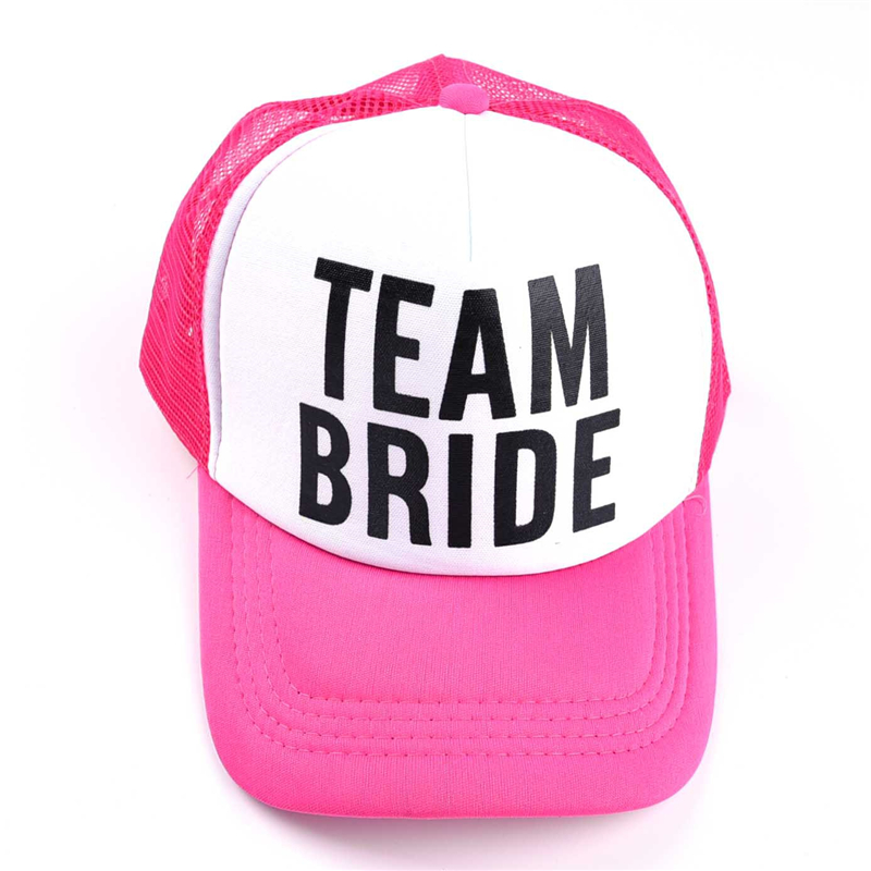 Bride Team Tattoos Baseball Cap Bachelorette Party Hat Bride To Be DIY Party Decoration Valentine Wedding Decorations Supplies W in Party DIY Decorations from Home Garden