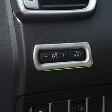 Нержавеющая сталь приборной панели одометр кнопка переключатель Крышка для Nissan Qashqai J11+ X-TRAIL Xtrail T32 2013+ аксессуары для отделки